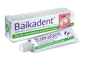 Baikadent zel do jamy ustnej 15ml