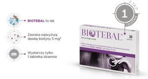 Biotebal 5mg x 30tabl.