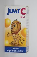 Juvit C krople 0,1 g/1ml 40 ml