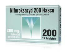 Nifuroksazyd Hasco 200 mg - 12 tabletek